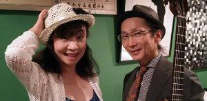 9/28(土)昼 : 柚木 かほる  上川 保  DUO